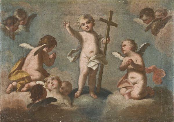 3: Old Master Oil Painting, Italian School, 18th