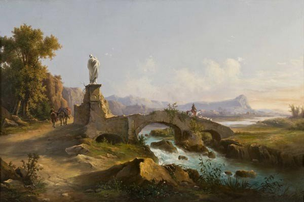 6: Old Master Oil Painting. 18th, Landscape