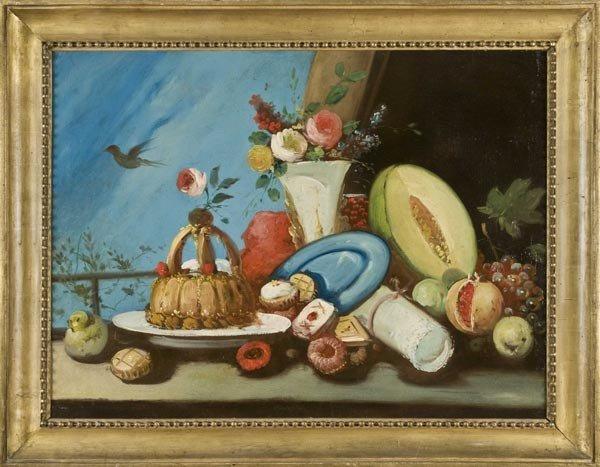 9: Old Master Oil Painting, Italian School, 19th