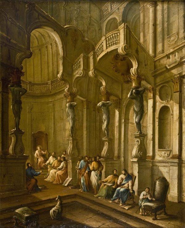 10: Old Master Oil Painting, Italian School, 18th