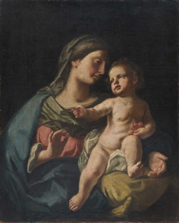 12: Old Master Oil Painting, Italian School, 17th