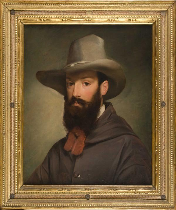15: Old Master Oil Painting, 18th, Portrait
