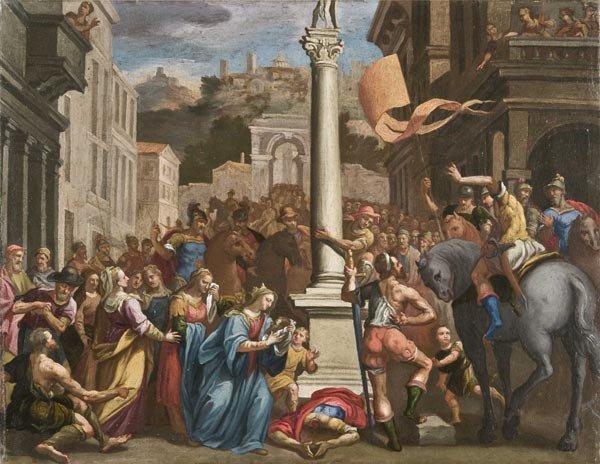 16: Old Master Oil Painting, Italian School, 17th