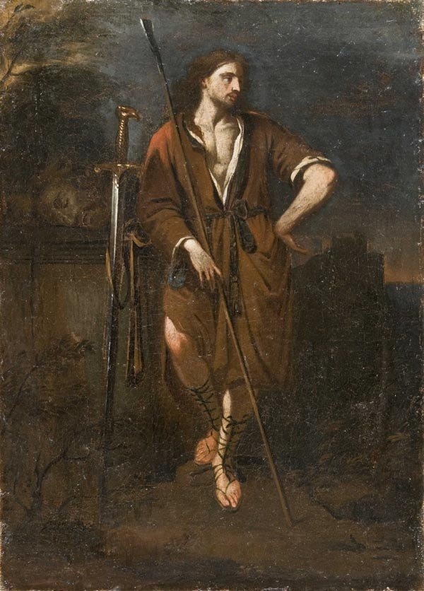 20: Old Master Oil Painting, French School, 18th