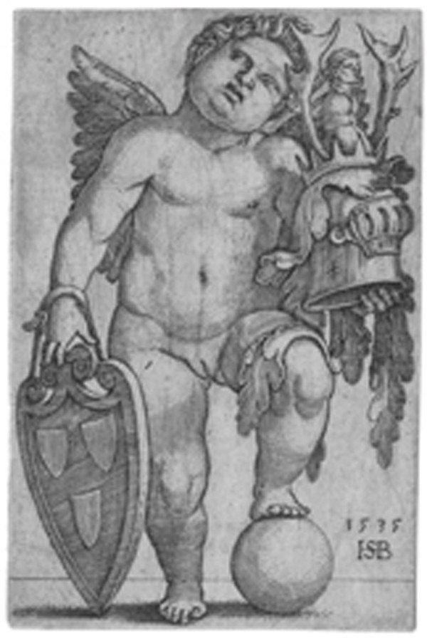 5: Old master print Engraving