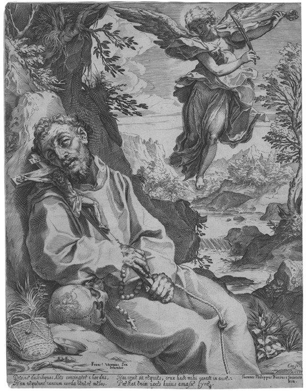 20: Old master print Engraving