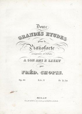 38: Chopin Fryderyk