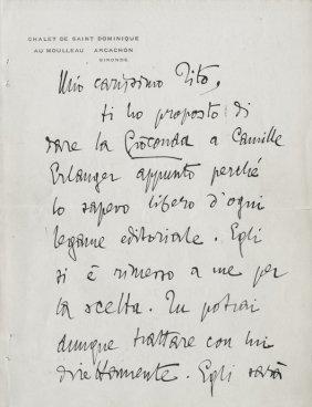 42: D'Annunzio Gabriele