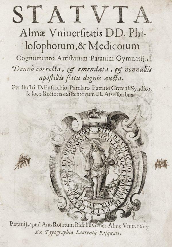 3: Statuta almae Vniuersitatis DD. Philosophorum…