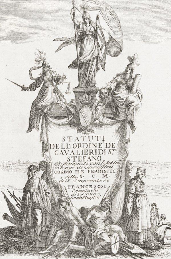 4: Statuti dell'ordine de Cavaliere di S.to Stefano