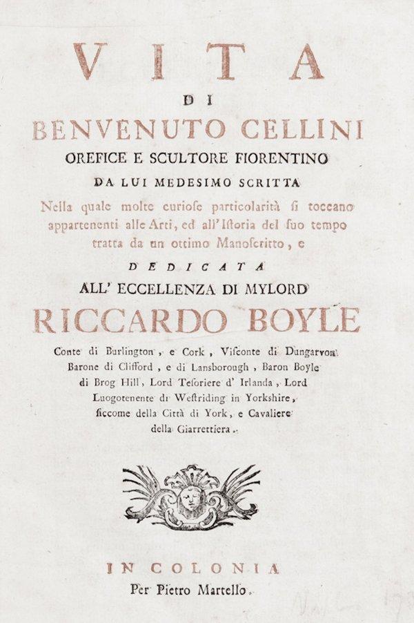 100: Cellini Benvenuto