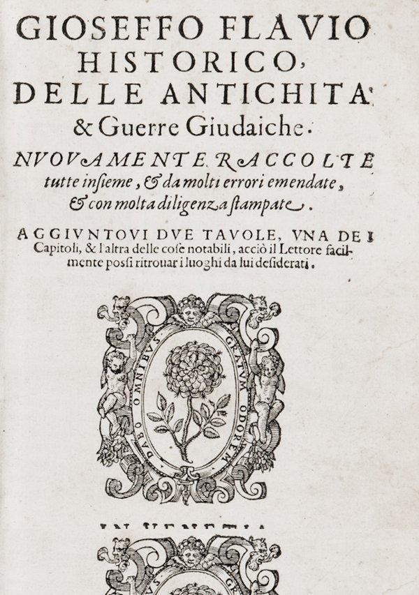 186: Iosephus Flavius