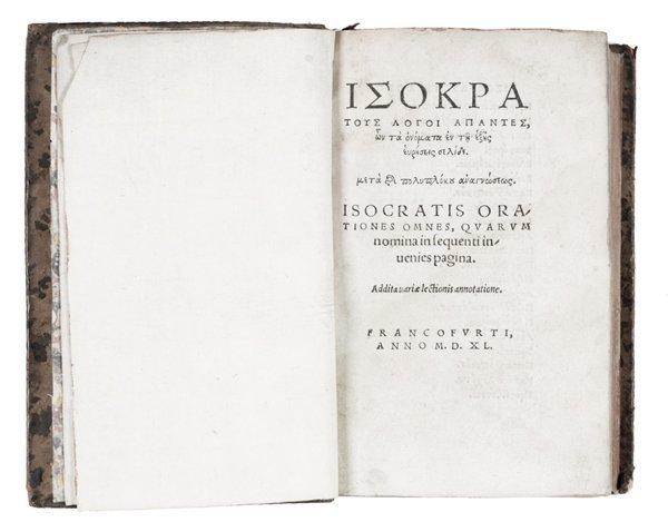 187: Isocrates
