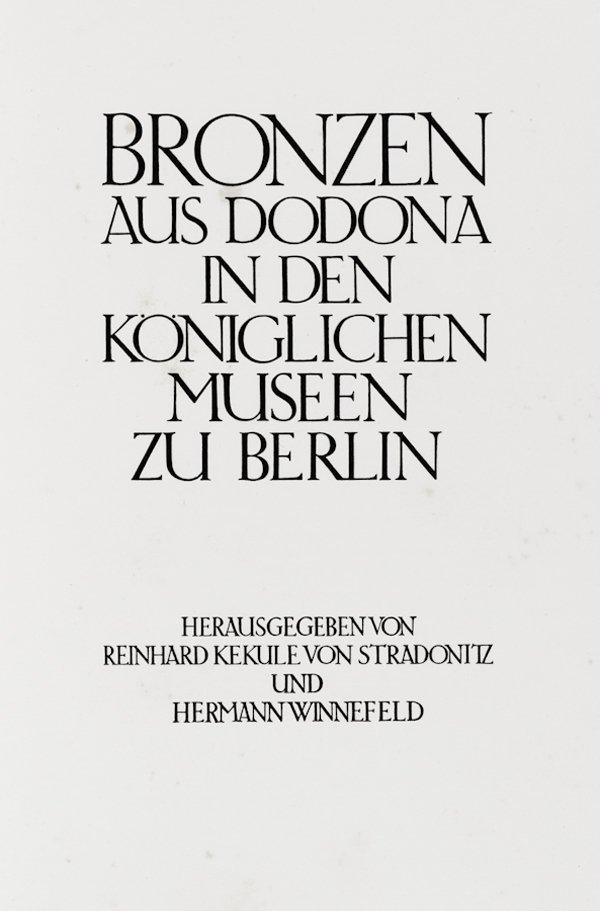 191: Kekulé Stradonitz Reinhard von, Winnefeld Hermann