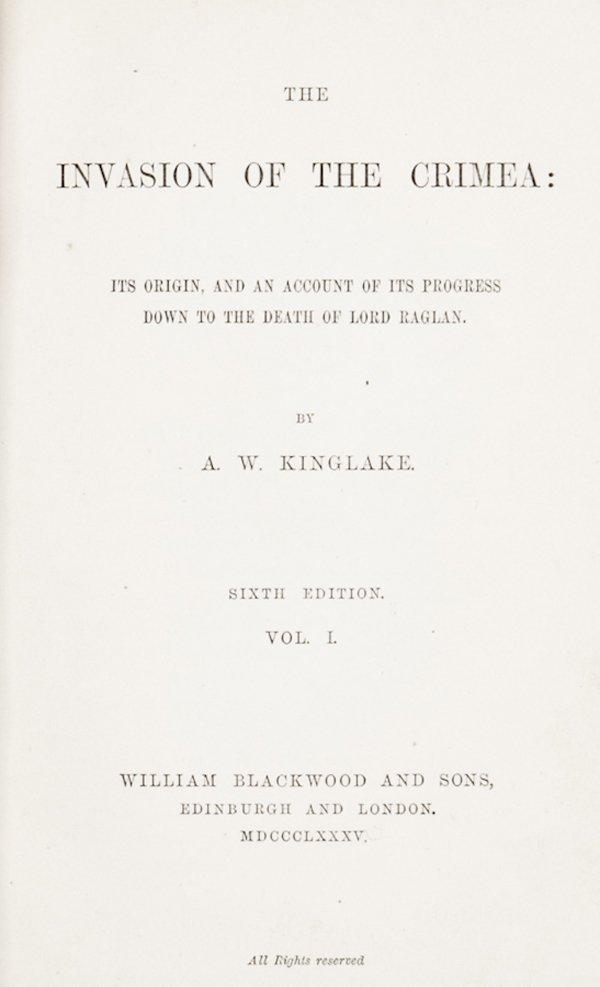 192: Kinglake Alexander William