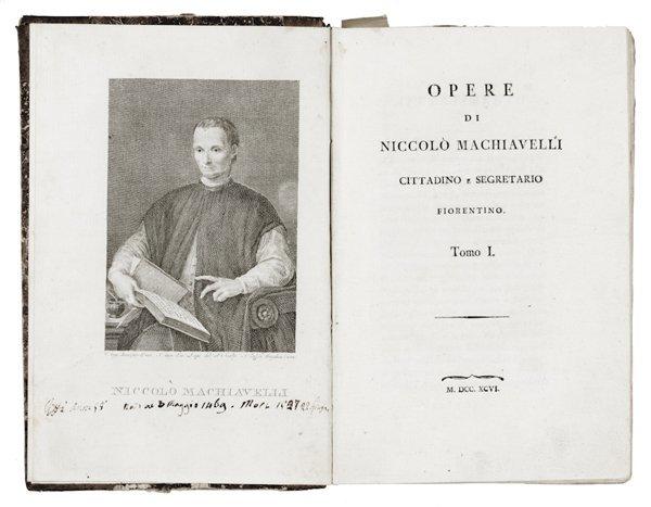 216: Machiavelli Niccolò