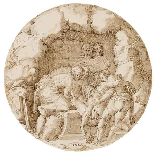 243: Scuola del Nord Italia XVI secolo.