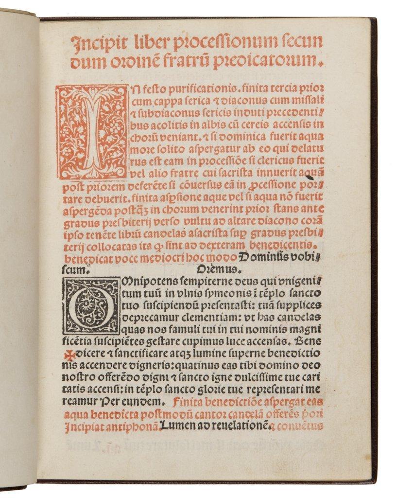 13: Processionarium Ordinis Fratrum Praedicatorum.