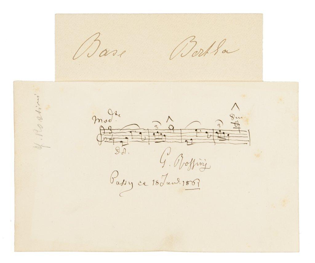 125: Rossini Gioachino