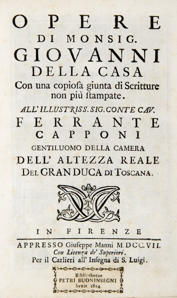408: Della Casa Giovanni