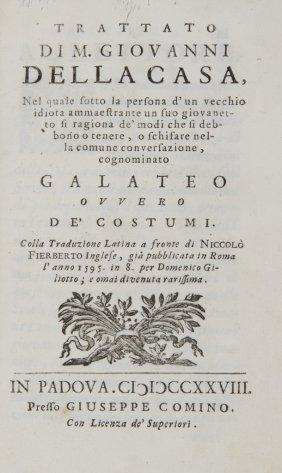 409: Della Casa Giovanni