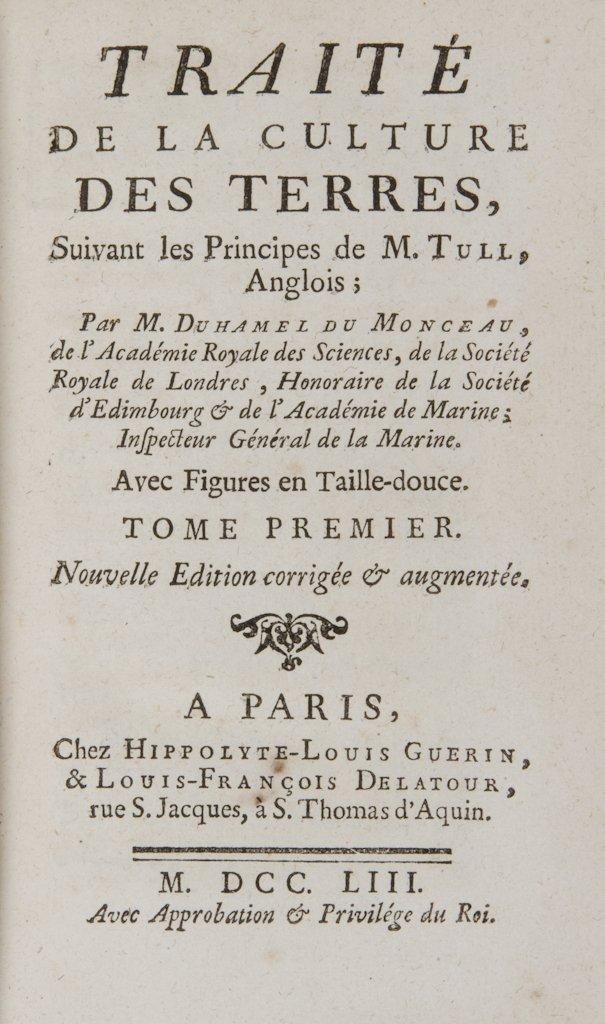 422: Duhamel du Monceau Henri Louis