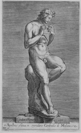 792: Alberti Cherubino, Antique Roman sculptures