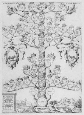 Ammirato Scipione, Family Trees