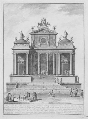 797: Barbazza Francesco, Templum of Jupiter, Juno...