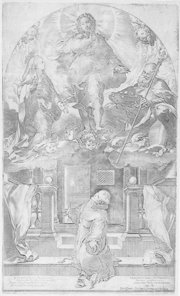 799: Barocci Federico, The vision of St. Francis