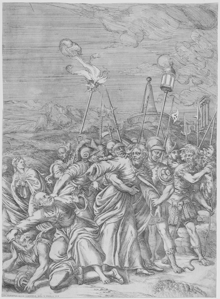 805: Bertelli Domenico, Arrest of Jesus
