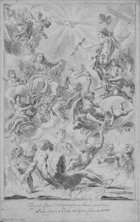 810: Brencola N., Christ and Virgin in glory