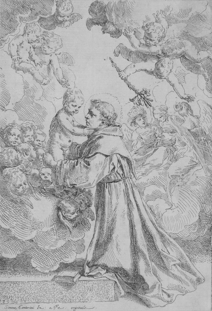 813: Cantarini Simone, St. Anthony of Padua