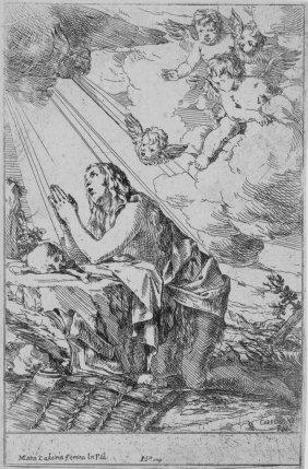 814: Carpioni Giulio, The penitent Magdalen