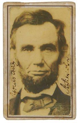 1184: Fotografia di Abraham Lincoln