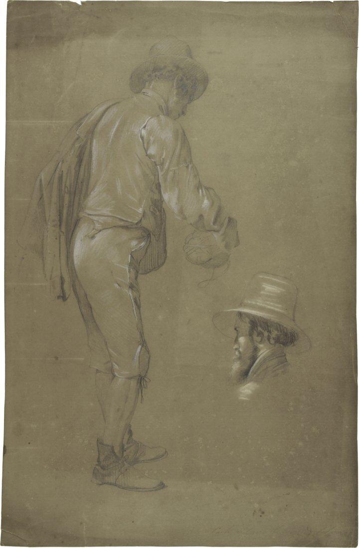 Carlo Ademollo, Uomo con fiasco