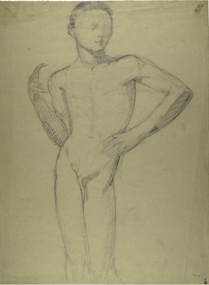 Libero Andreotti, Studio per il 'Pesciaiolo'.