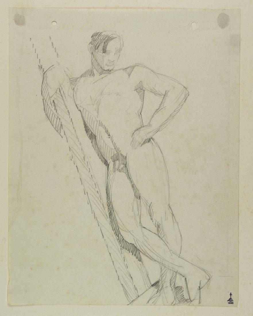 Libero Andreotti, Nudo virile.