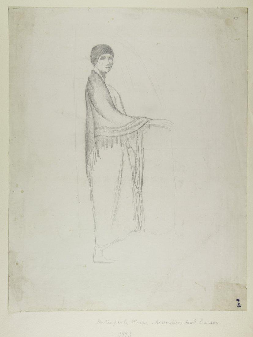 Libero Andreotti, Studio per la 'Madre'.