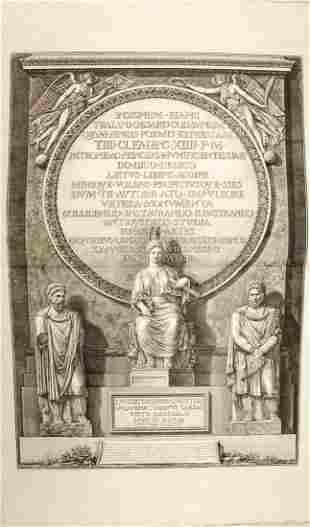 Giovanni Battista Piranesi. Colonne Traiane …