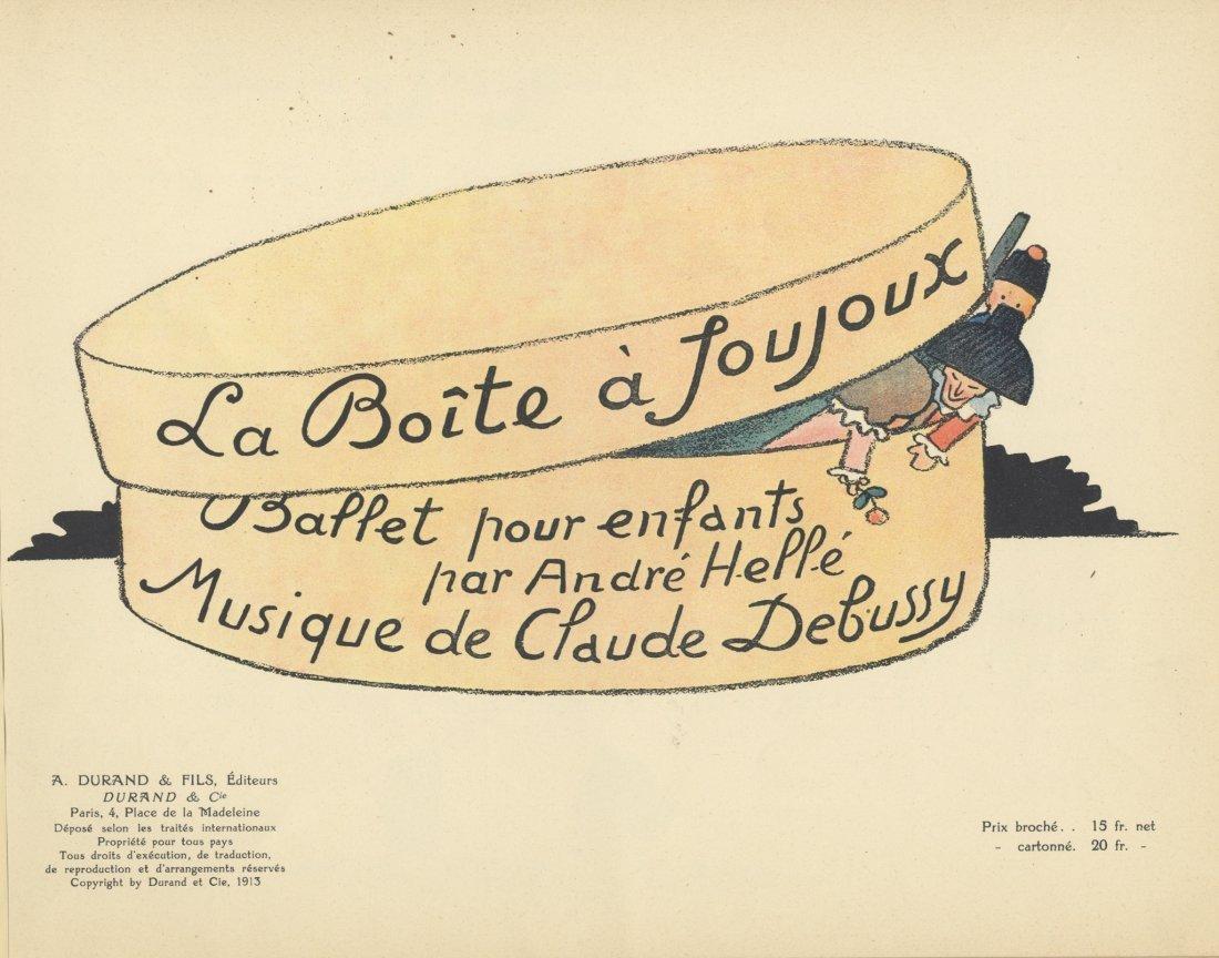 Debussy Claude, Hellé André