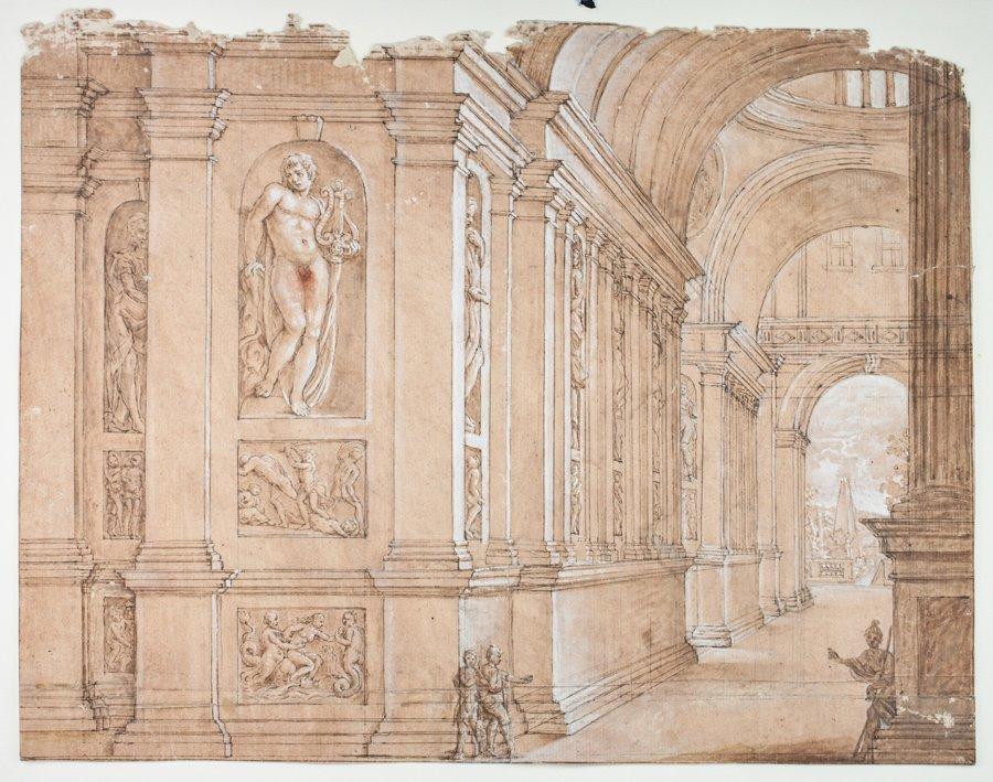 Ferdinando Galli Bibiena [attribuito a]