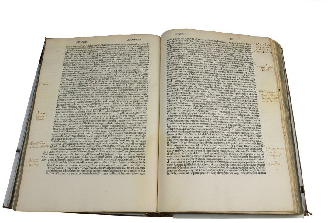 Biondo Flavio, 1484 con postille di Tartaglia