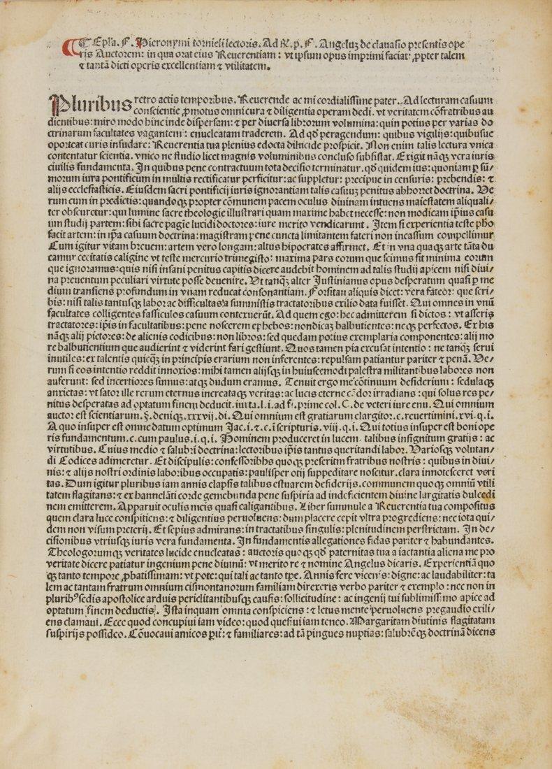 Chivasso Angelo (da), 1487