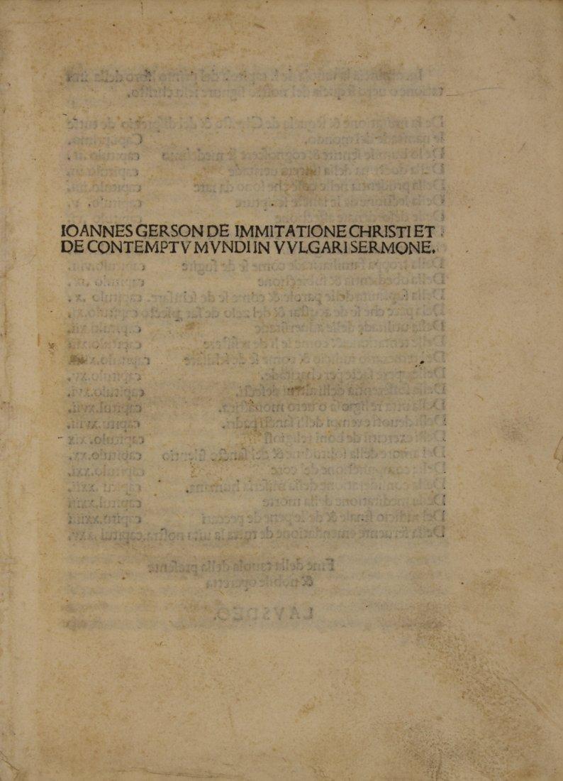 Thomas a Kempis, 1488