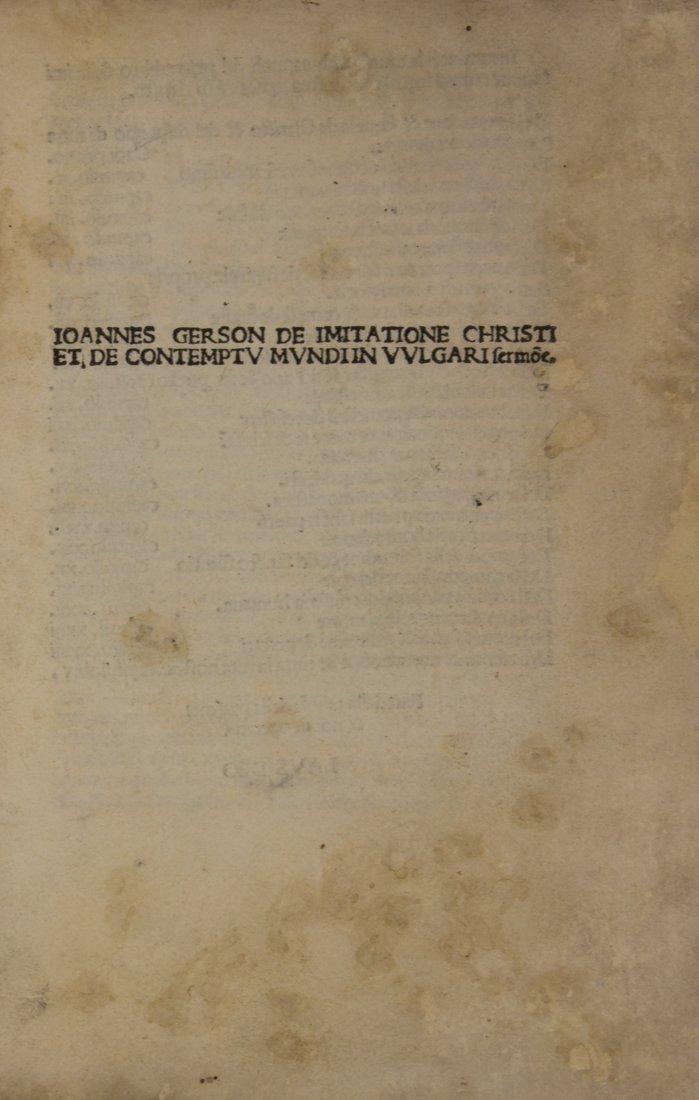 Thomas a Kempis, 1489