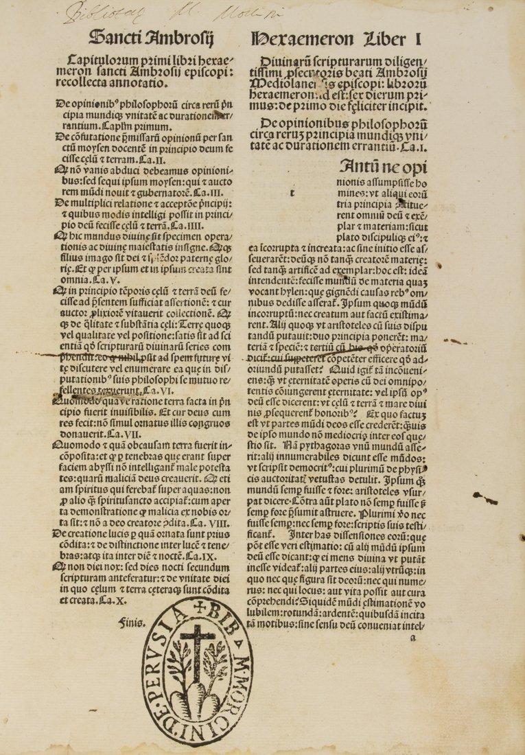 Ambrosius (santo), 1492