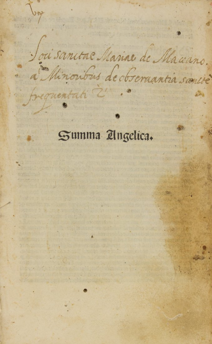 Chivasso Angelo (da), 1492