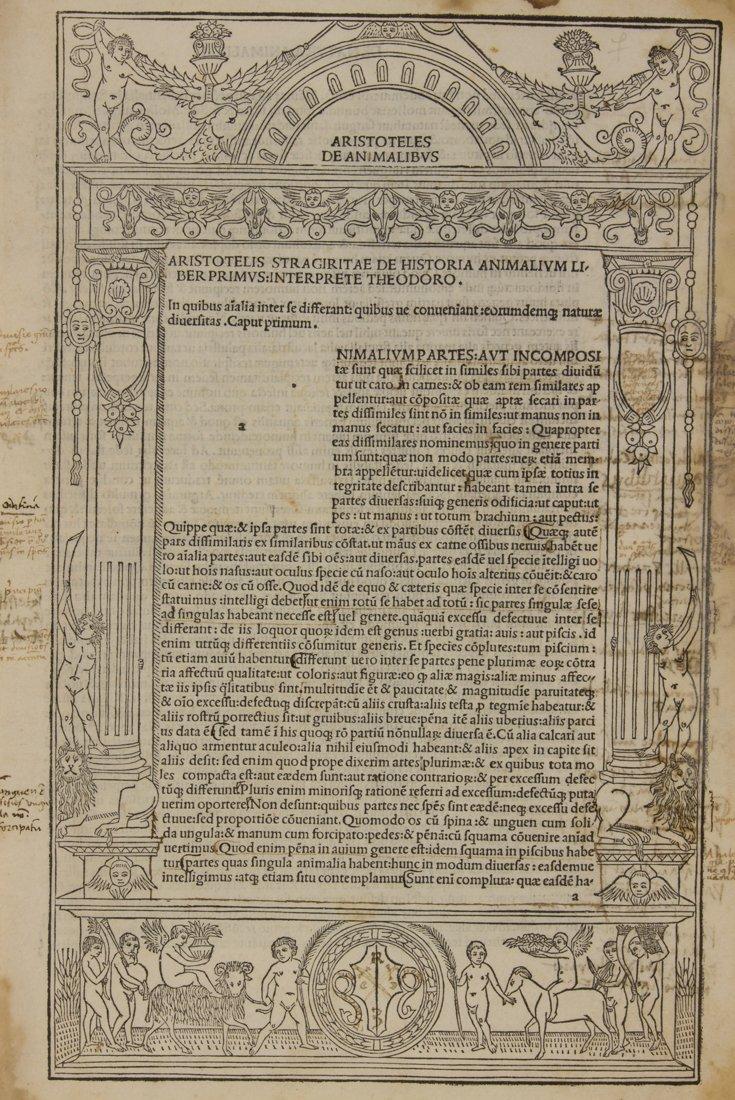 Aristoteles, 1492
