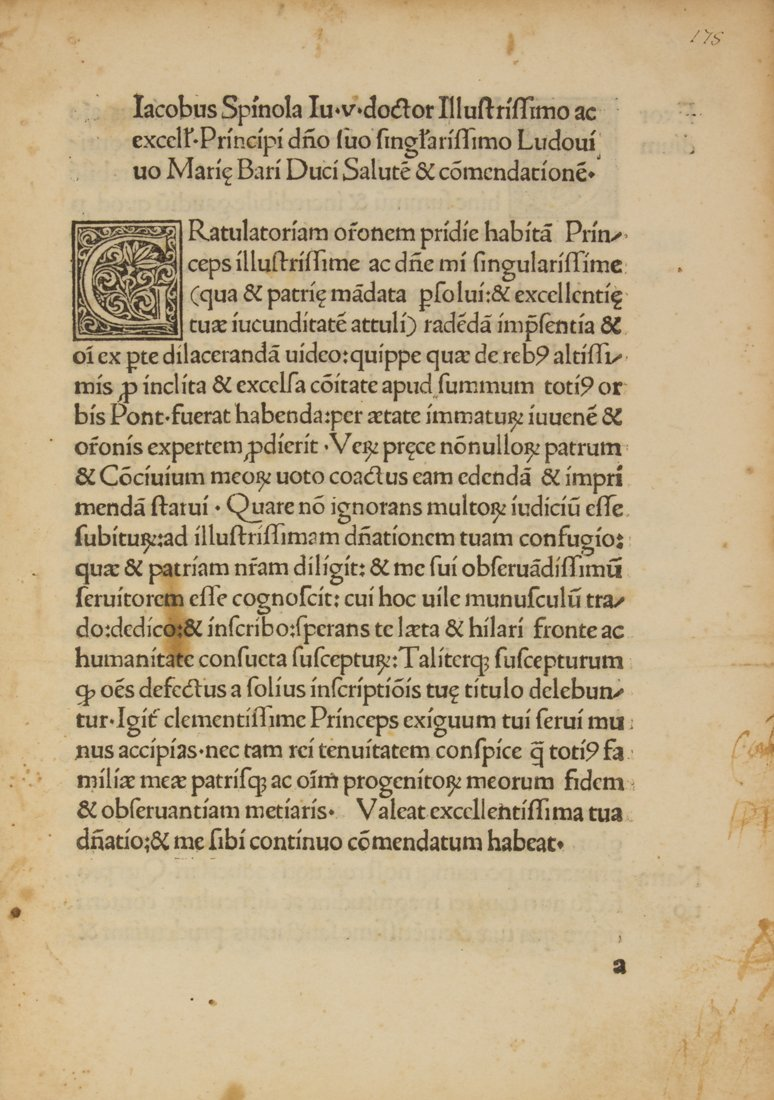 Spinola Jacobus, 1492